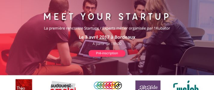 Evènement 3 avril : Meet Your StartUp